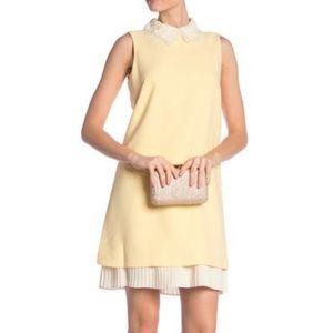 Nanette Lepore PLUS Size Yellow & Cream Lace Dress